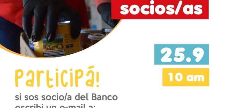 ¿SOS SOCIO/A DEL BANCO? ¡PARTICIPÁ!: ASAMBLEA ANUAL 2021